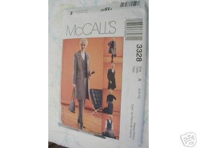 MISSES JACKET-VEST-SKIRT-PANTS PATTERN McCALL's 18 - 22