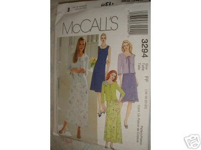 MISSES/MISS  DRESS/CARDIGAN PATTERNS 16 - 22