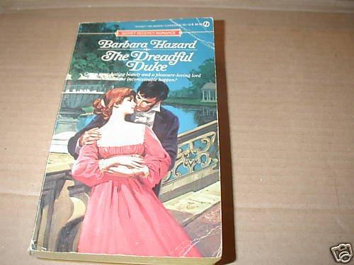 The Dreadful Duke by Barbara Hazard (1985)
