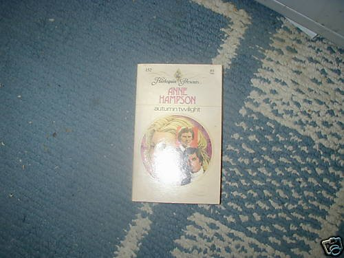 AUTUMN TWILIGHT ANNE HAMPSON HP PB