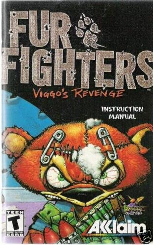 Fur Fighters Viggo's Rv (PS2)INSTRUCTION MANUAL no game