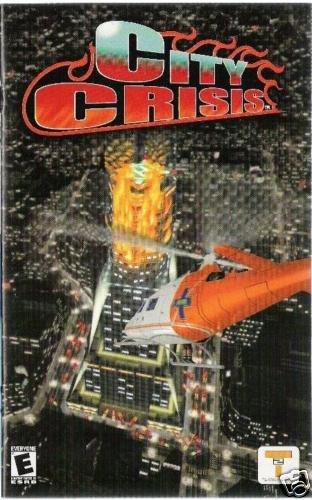 City Crisis  ( PS2) INSTRUCTION MANUAL no game
