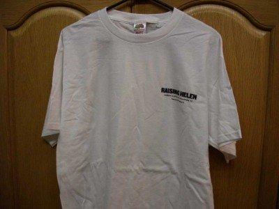 White RAISING HELEN Promotional T-Shirt Adult Large NEW