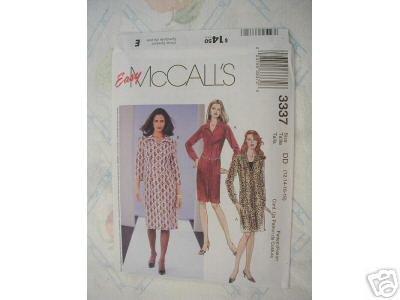MISSES/MISS SHIRT- DRESS McCALL'S PATTERN 12 - 18
