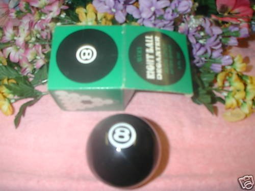 Avon SPICY After Shave (Eight Ball Decanter) 3 oz