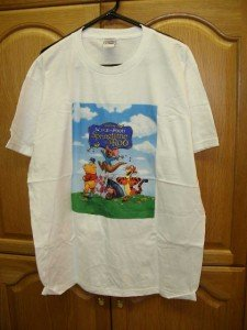 Winnie Pooh- Springtime w/ Roo T-Shirt Adult Large NEW