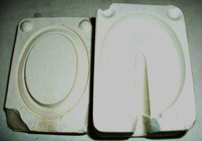 SMALL CERAMIC MOLD ~ PICTURE FRAME ~ DECORATIONS