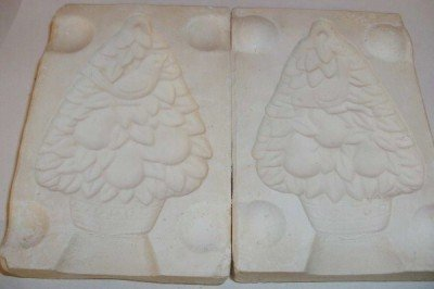 '70 CERAMIC MOLD CHRISTMAS ORNAMENT PARTRIDGE PEAR TREE