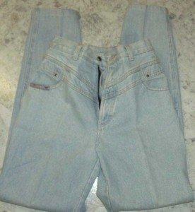women's lt. blue denim BLAZE jeans  26x32 -2 pocket sz5