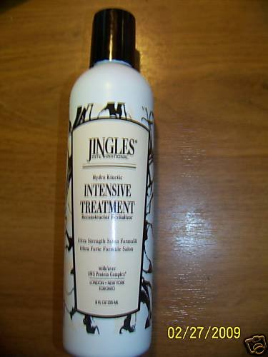 Jingles International SALON Intensiv HAIR Treatment New
