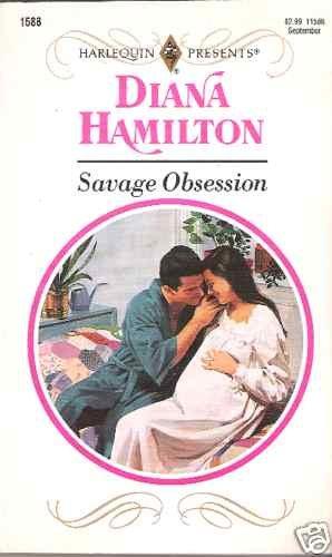 Savage Obsession  Diane Hamilton  PB