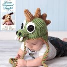 Crochet Pattern 005 - Dinosaur Earflap Beanie Hat - All Sizes