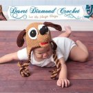 Crochet Pattern 007 - Puppy Earflap Beanie - Photography Prop