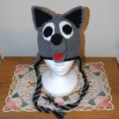 Crochet Pattern 009 - Wolf - Husky Puppy Earflap Beanie - All Sizes