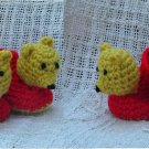Crochet Pattern 022 - Honey Bear Booties - 3 Sizes