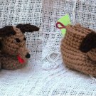Crochet Pattern 023 - Hound Dog Booties - 3 Sizes