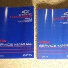 1994 Service Manual JB Chevrolet Cavalier
