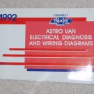 1992 Service Manual Electrical Diagnosis Wiring Diagram Chevrolet Astro Van