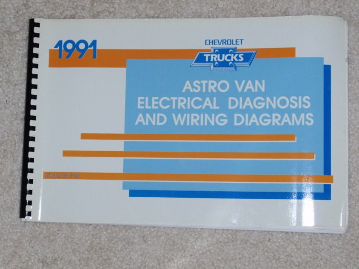 1991 Service Manual Electrical Diagnosis Wiring Diagram