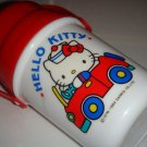 Vintage Original Hello Kitty Sanrio Mini Plastic Flask, 1980.