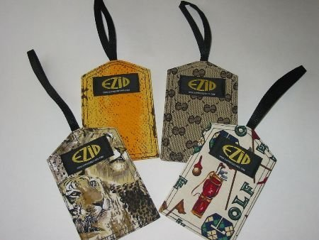4 Suitcase LUGGAGE I.D. TAGS For Backpacks TRAVEL Your Choice!