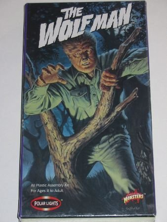1998 Polar Lights WOLFMAN Model KIT BOWEN Wolf Man NEW