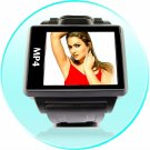 8GB - Widescreen MP4 Player Watch - 1.8 Inch Display  [TKE-CVESG-S818-8GB]