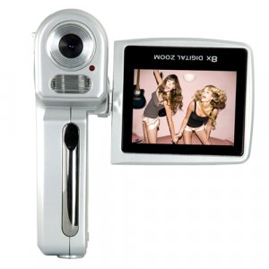 5.1MP 8X MP4 Digital Video Camera  [TKE-CVA-DV12818]