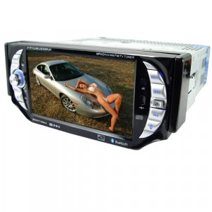 Car Stereo AV System with Bluetooth (1-DIN)  [TKE-CVSA-C13]