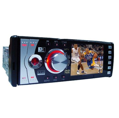 3.5-Inch TFT Car DVD and TV Player - USB Port + SD/ MMC/ MS Slot  [TKE-CVEZJ-6359]