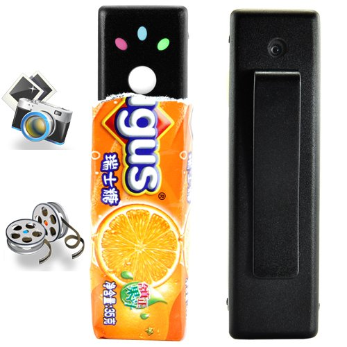 Mini Hidden Digital Video Camera with Encryption Feature  [TKE-CVHE-I11]