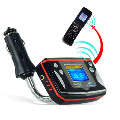 Bluetooth Car Kit for Bluetooth Calls and MP3 Music  [TKE-CVSCJ-7900-2GEN]