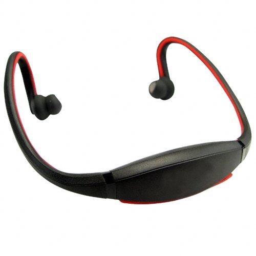 Flexible Bluetooth Headset - Sports + Leisure  [TKE-CVSB-845-BLACK]