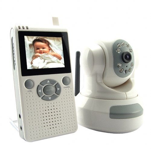 Wireless Baby Monitor with Night Vision (Video)  [TKE-CVAAE-601LD]