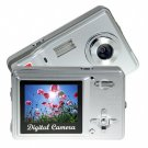 Palm Sized Point and Shoot 5MP Digicam - Silver  [TKE-CVSE-712]
