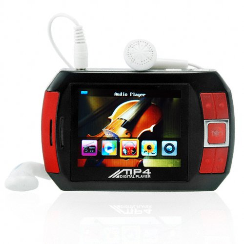 4GB Portable Media Player - PMP with Video, Music, Camera, Games  [TKE-CVSL-109-4GB]