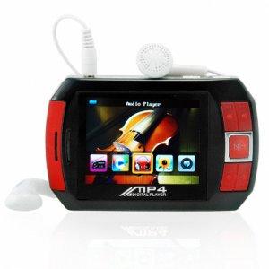 4GB Portable Media Player - PMP with Video, Music, Camera, Games  [TKE-CVSL-109-4GB]