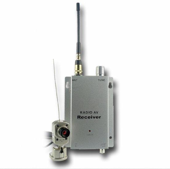 Mini Wireless Camera with Receiver (USA)  [TKE-WSC-809A-NTSC]