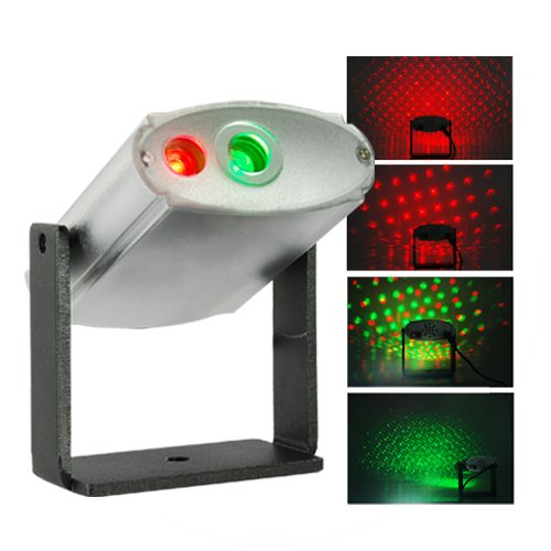 Laser Effects Projector With Red And Green Lights  [TKE-CVGF-G25]