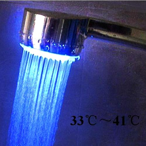 LED Color Changing Shower Head  [TKE-CVSCL-8100]
