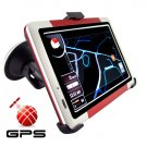 5 Inch Touch Screen GPS Navigator w/FM Transmitter (Sports Ed.)  [TKE-CVGY-CS18]