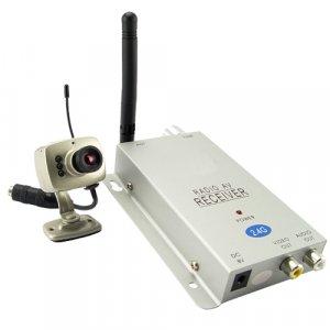 1/3 Inch Mini Wireless Camera with Receiver (USA)  [TKE-CVD-211A208C-NTSC]