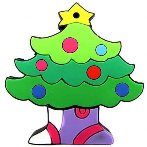 4GB USB Christmas Tree Flash Drive Holiday Ornament  [TKE-CVSED-A3806]
