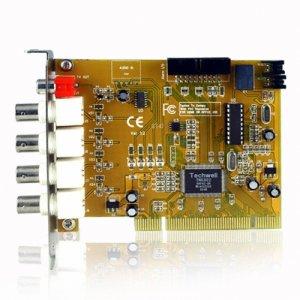 2-CH Real Time Video + 1-CH Audio DVR Card - Motion Detection  [TKE-CVAJM-2000FB]