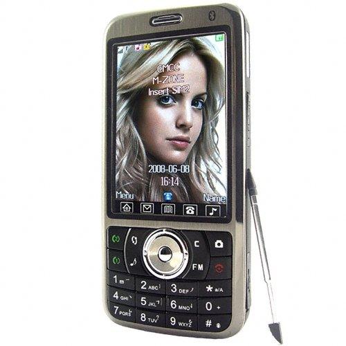 Quad Band Touchscreen Cell Phone - Dual SIM + Large Display  [TKE-CVSCY-9400]