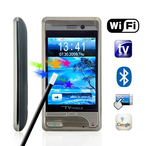 Voyager - Quad Band Touchscreen Dual-SIM WiFi Media Cellphone  [TKE-CVDQ-M50]