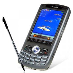 Quad Band Touchscreen Cell Phone - Dual SIM/Dual Standby (Black)  [TKE-CVSC-223-Black]