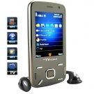 Quadband Dual SIM Touchscreen TV Cellphone w/ Accelerometer  [TKE-CVDQ-M38]