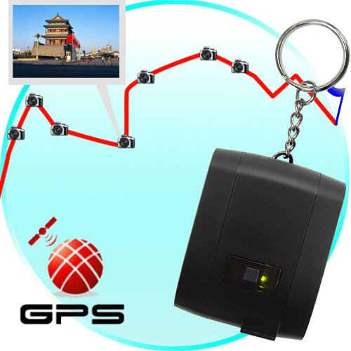 GPS Receiver + Data Logger + Photo Tagger (Keychain Edition)  [TKE-CVHN-G49]