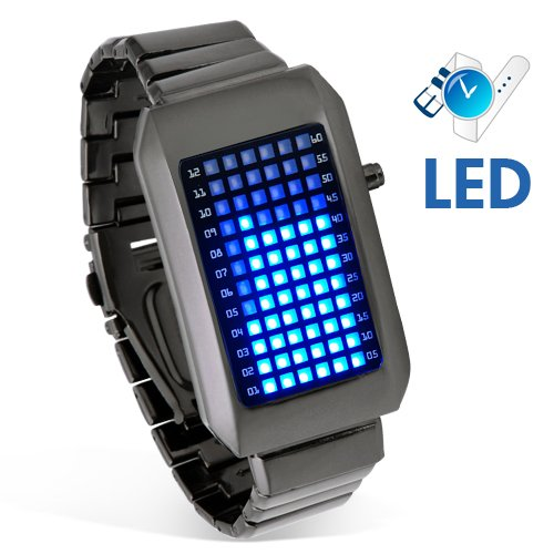 Zero Kelvin - Japanese Blue LED Watch  [TKE-CVIZ-G71]